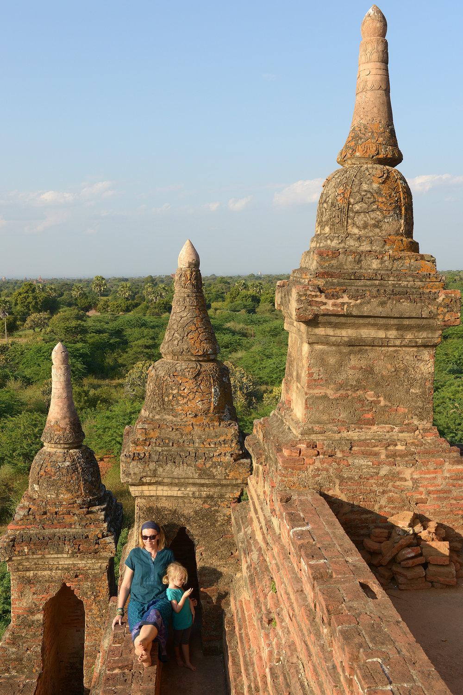 Bagan, Myanmar, Burma, temppeli