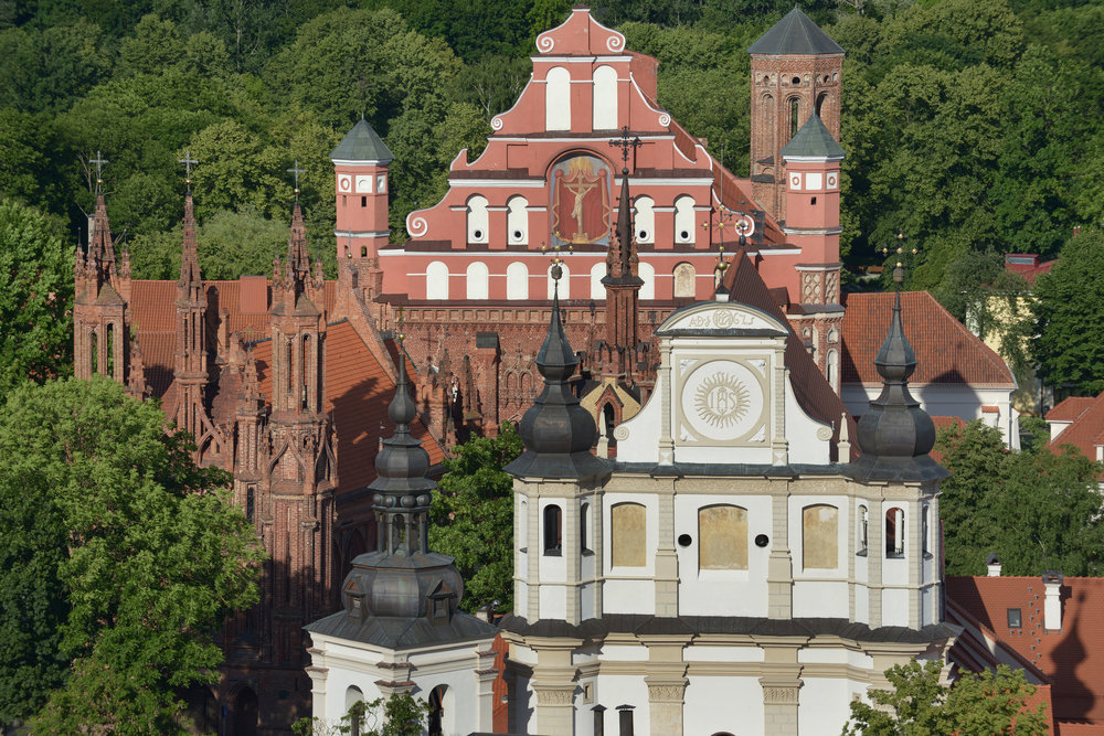 Vilna, kirkot, matkablogi