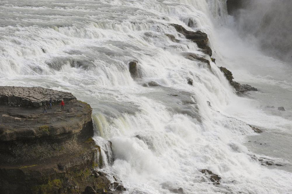 Islanti, Gulfoss, vesiputous, matka