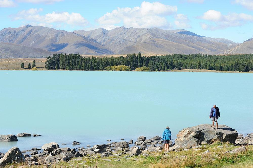 Lake Tekapo, Uusi-Seelanti, maisema