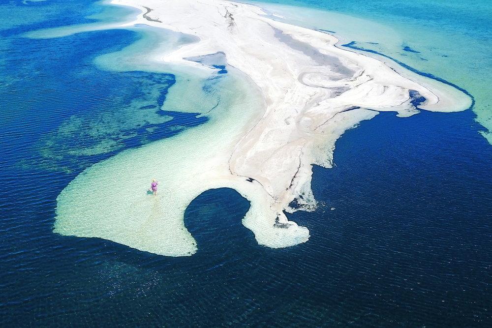 Länsi-Australia, ranta, maisema