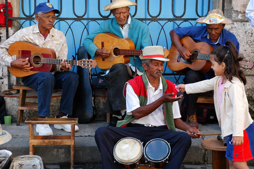 Kuuba, bändi, Havanna, matka