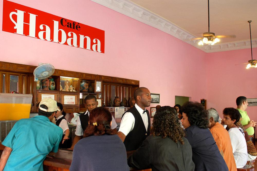 Kuuba, kahvila, baari