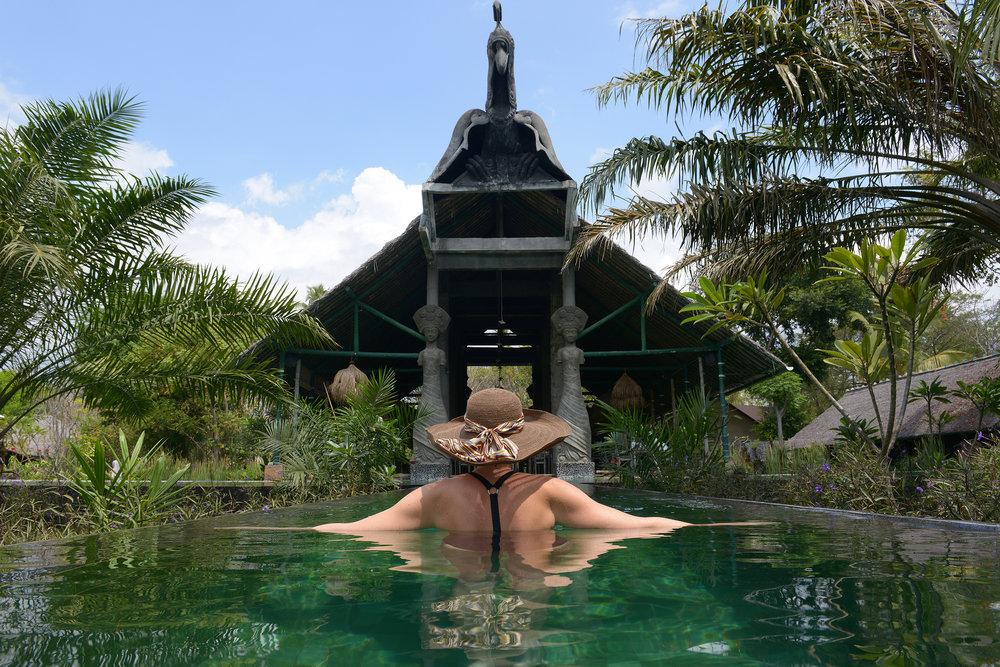 Hotelli, allas, luksushotelli, Lombok