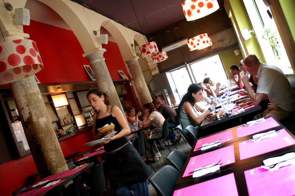 Kahvila, Espanja, espanjalaiset