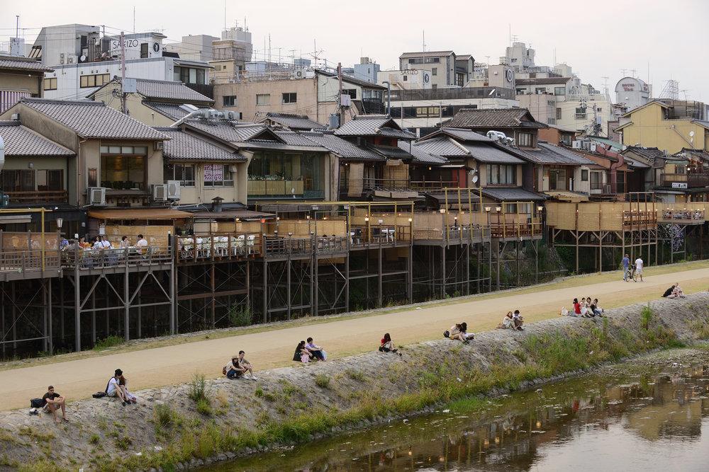 Kioto, joki