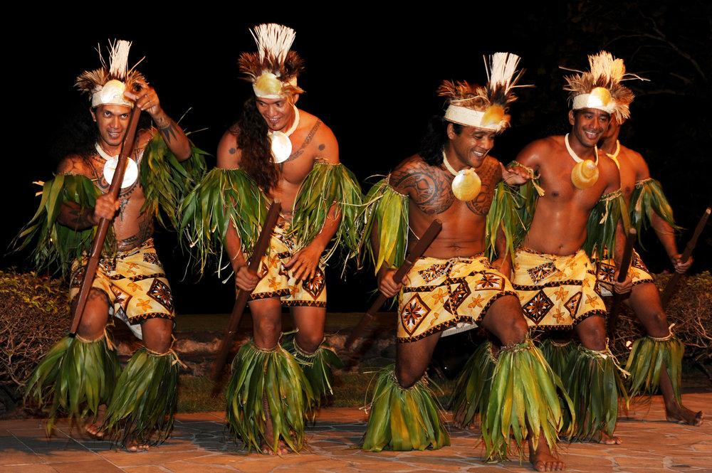 Tahiti, tanssi