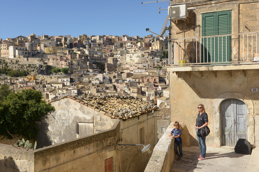 Ragusa, Sisilia, Italia