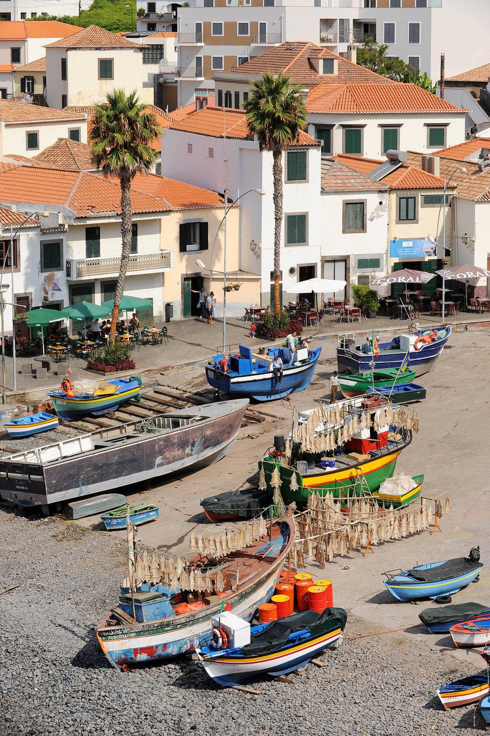 Madeira, kylä, Camara de Lobos