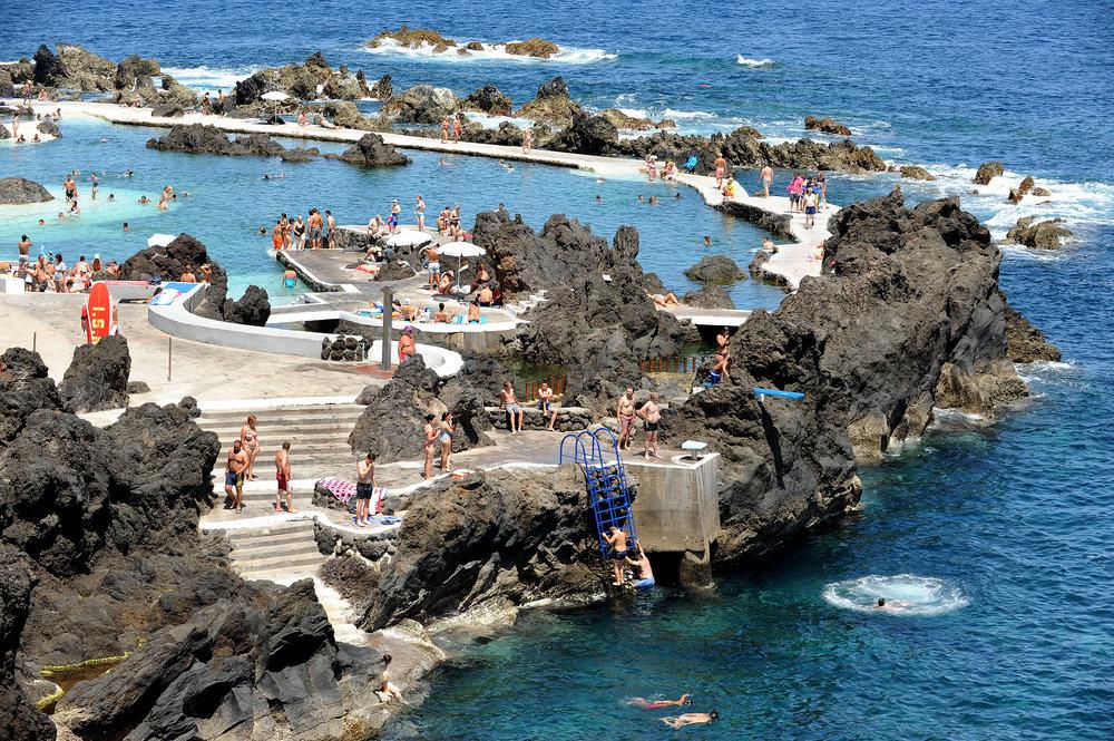 Madeira, merivesiallas
