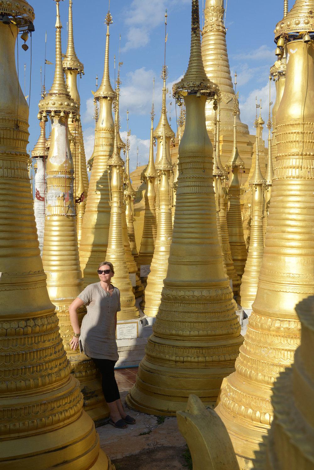 Myanmar, Burma, temppeli, Inle