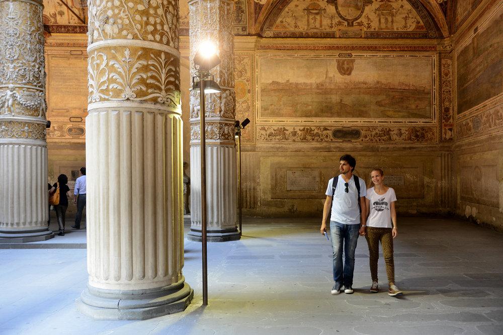 Italia, Firenze, Toscana, Palazzo Vecchio