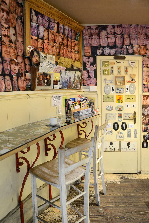 Italia, Firenze, Oltrarno, Caffe degli Artigiani