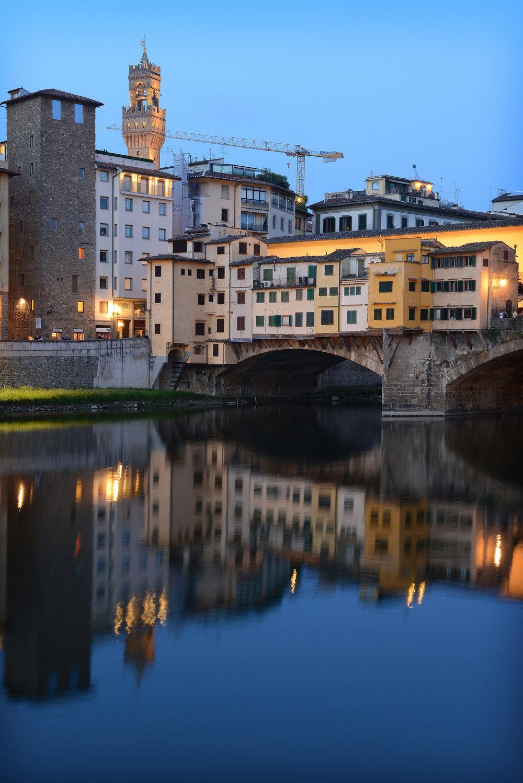 Italia, Firenze, Toscana, Ponte Vecchio