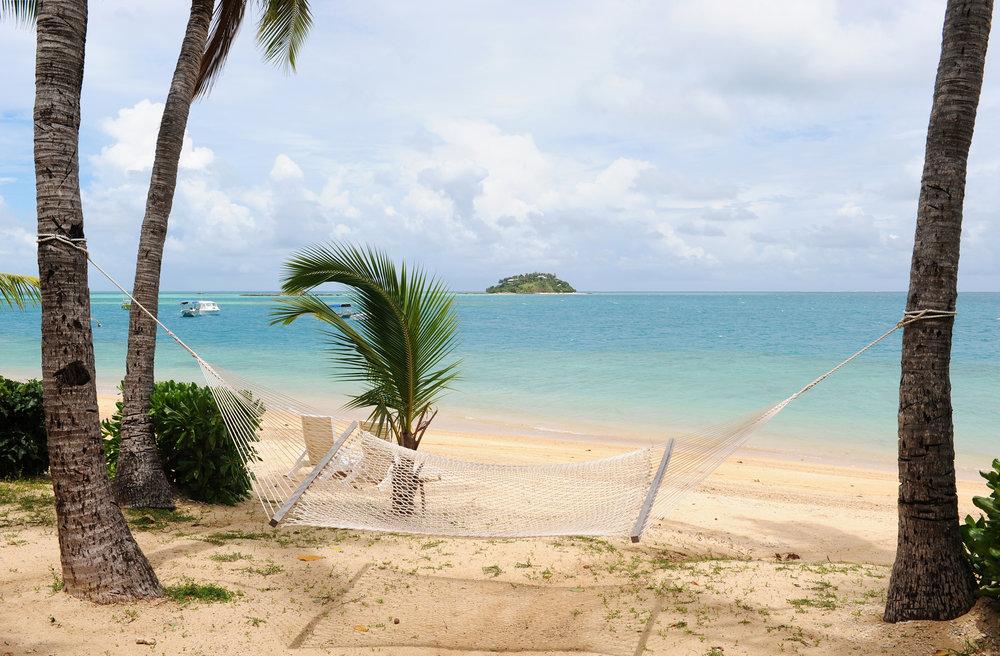 Fidzi, Fiji, paratiisisaari, riippukeinu