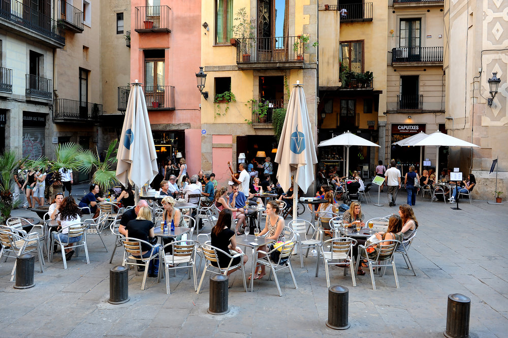 Barcelona, Espanja, Katalonia, Born, vanhakaupunki