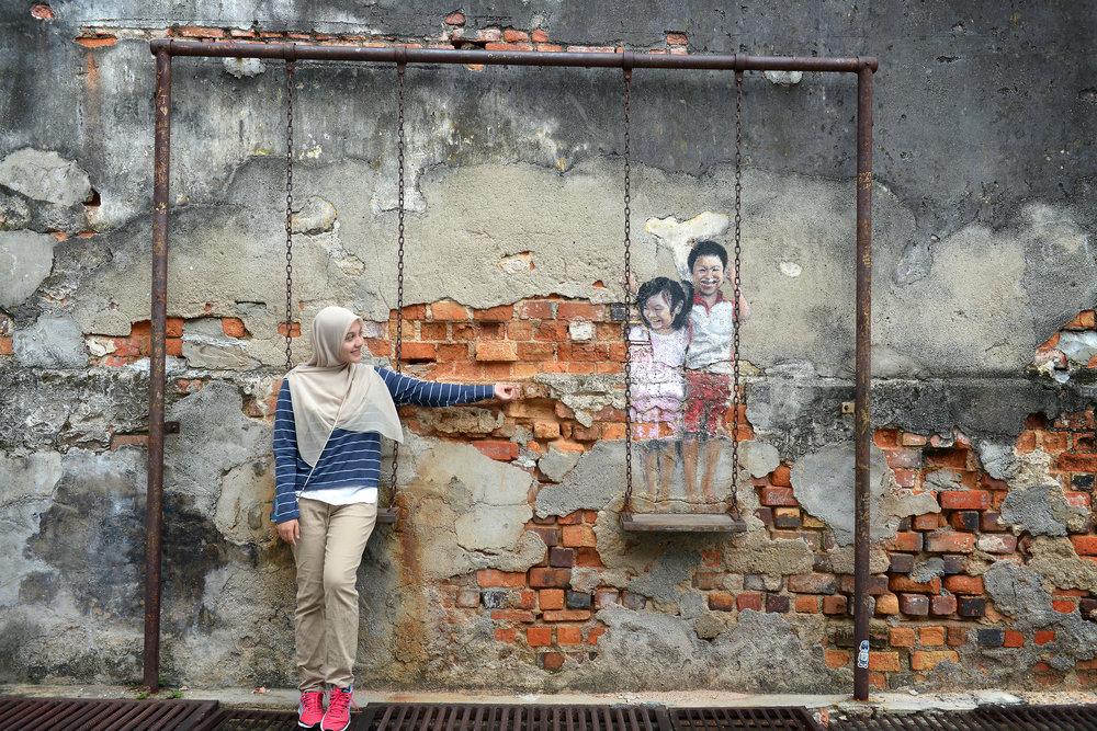 Katutaide, Malesia, Penang, Georgetown