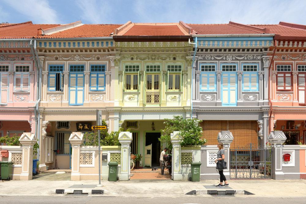 Koon Seng Road, Singapore, värikäs