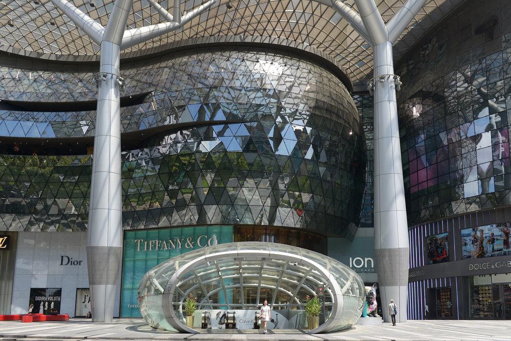 Orchad Road, Singapore, ostoskeskus