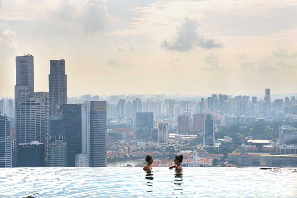 Singapore, Marina Bay Sands, hotelli