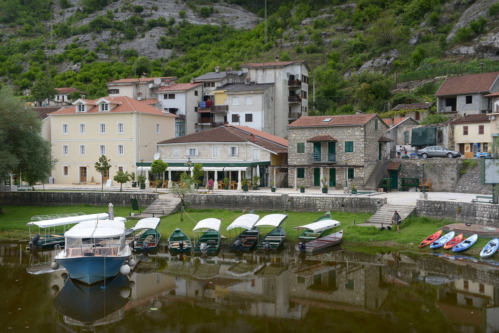 Montenegro, kylä, Rijeka Crnojevića