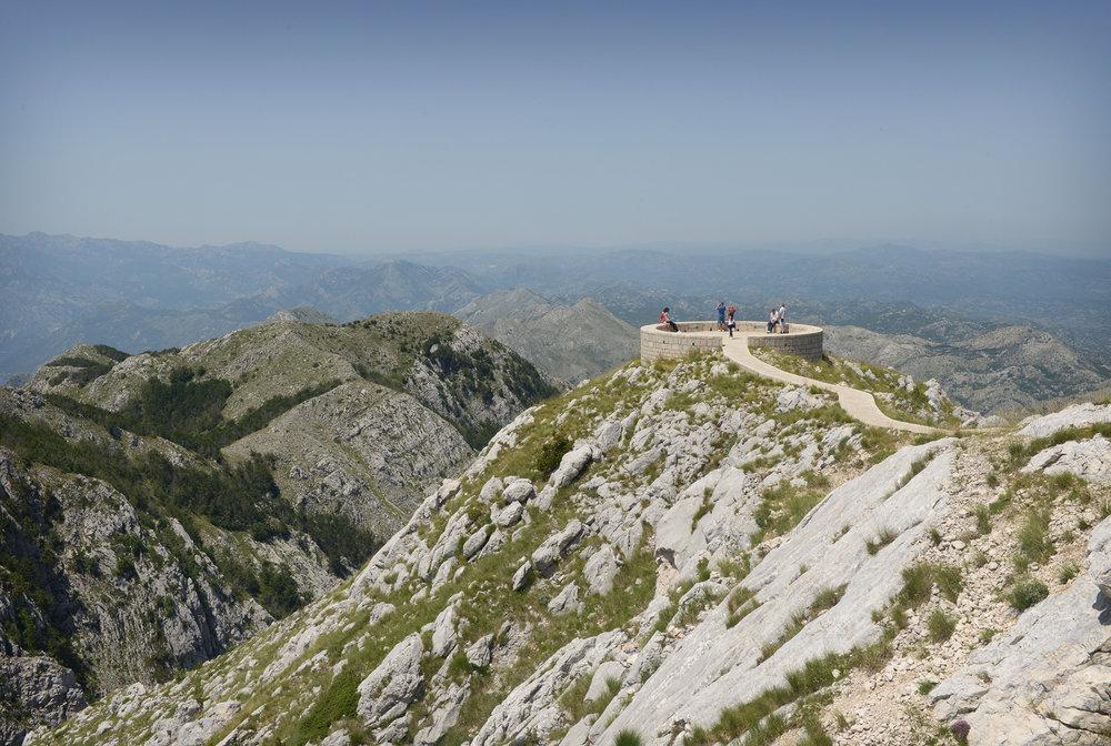 Montenegro, Lovćen kansallispuisto, vuoristo