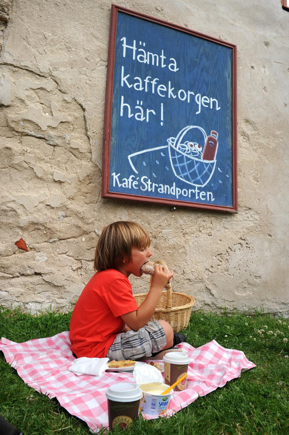 Visby, Gotlanti, lapsi