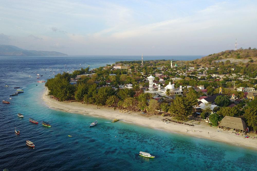 Gili saaret, Indonesia