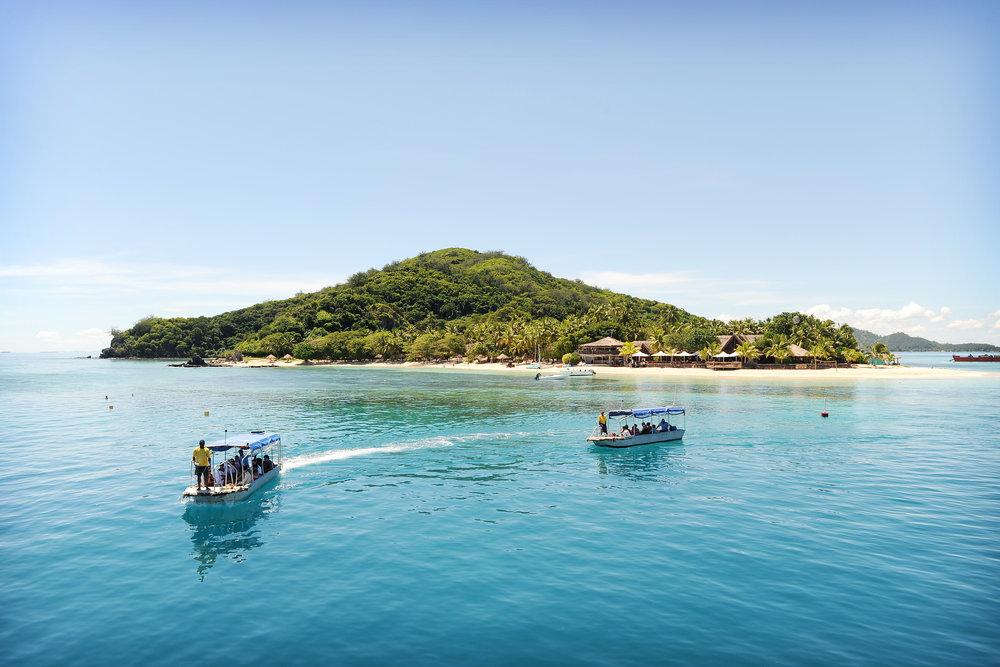 Fidzi, saari, meri, vene, matka