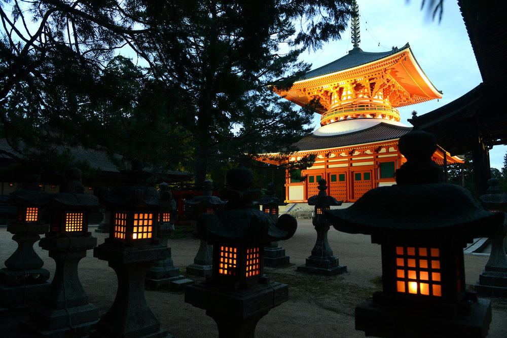 Japani, Koyasan, temppeli