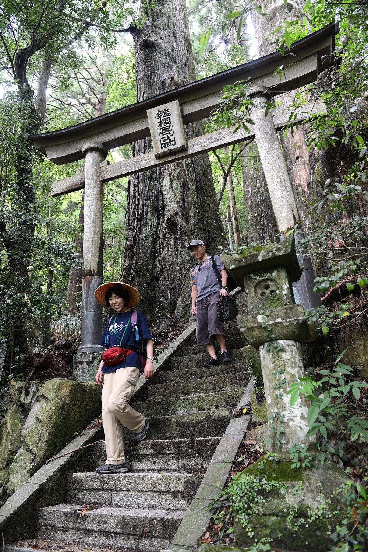 Japani, vaellus, Wakayama