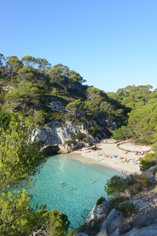 Menorca, ranta, meri