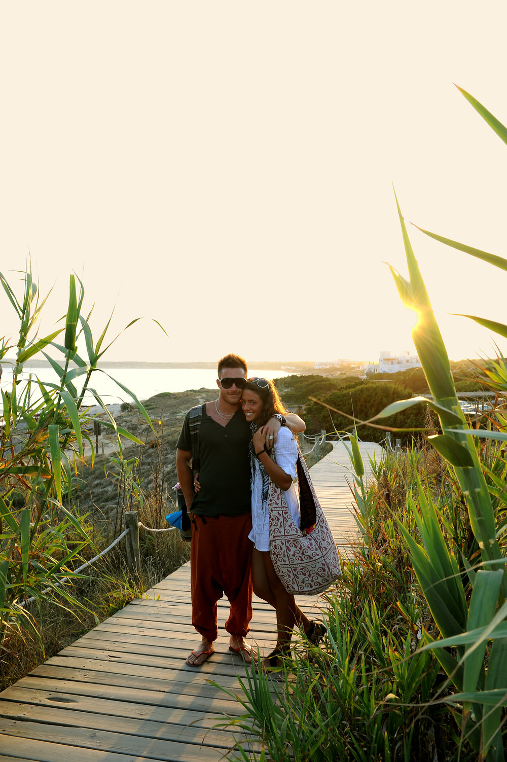 Formentera, auringonlasku