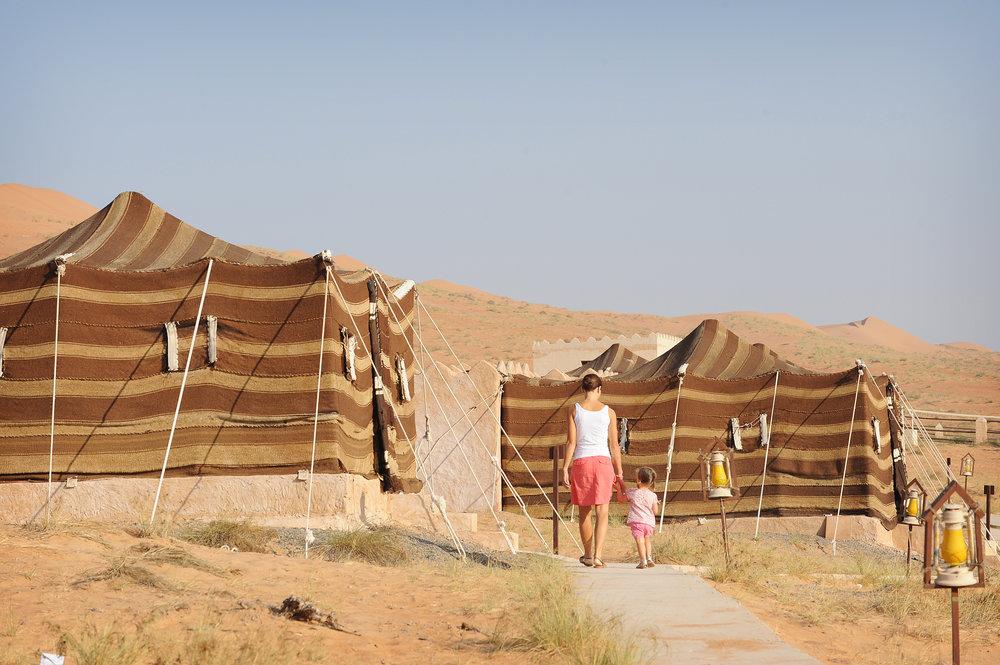 Wahiba Sands, pman, aavikkomajoitus