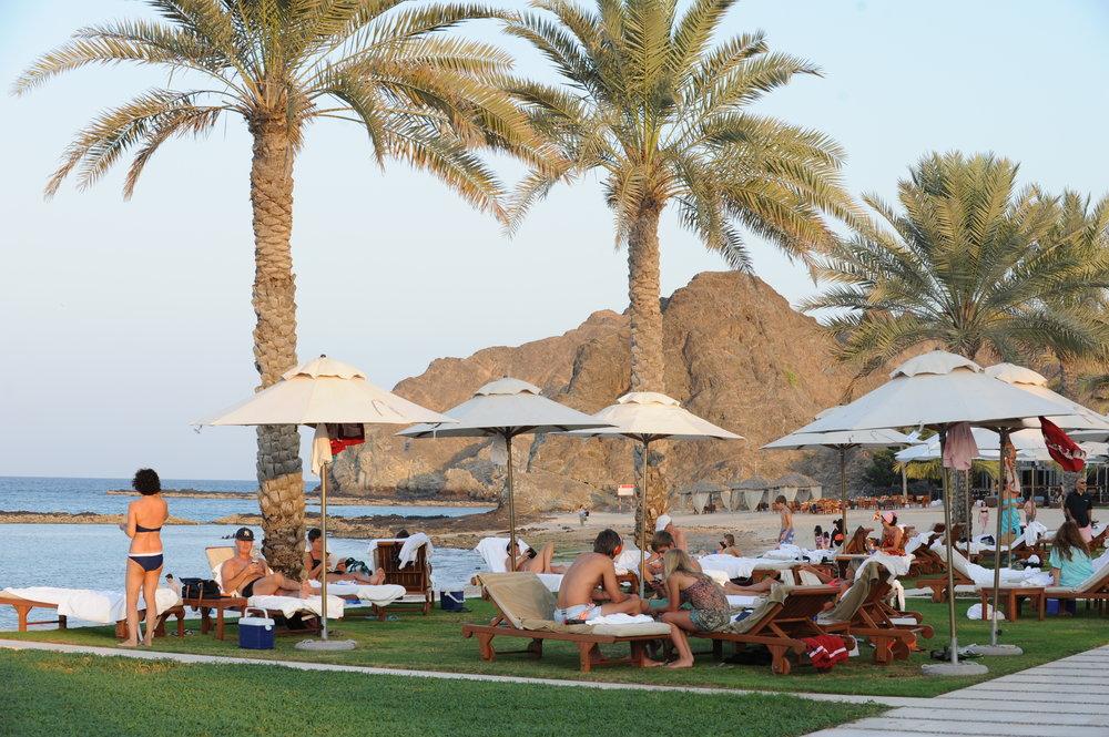 Al Bustan Palace, hotelli, Oman