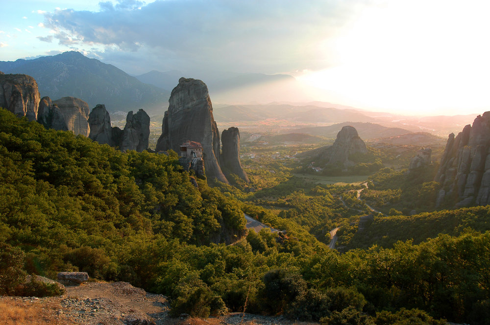 Meteora, Kreikka