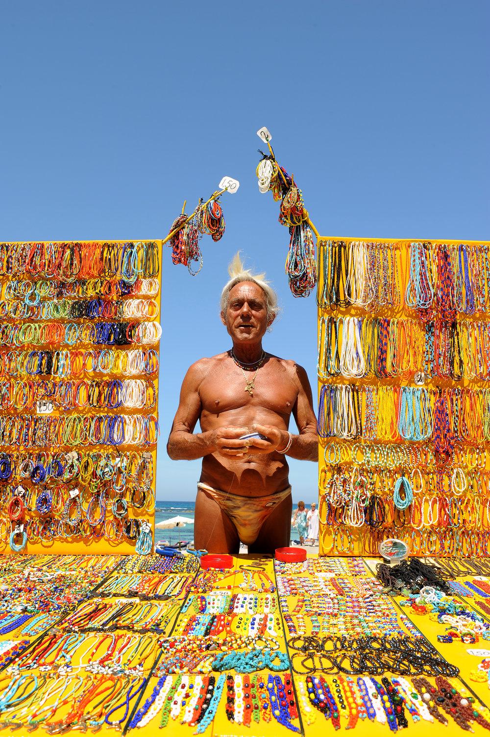 Hippi, Formentera, Espanja