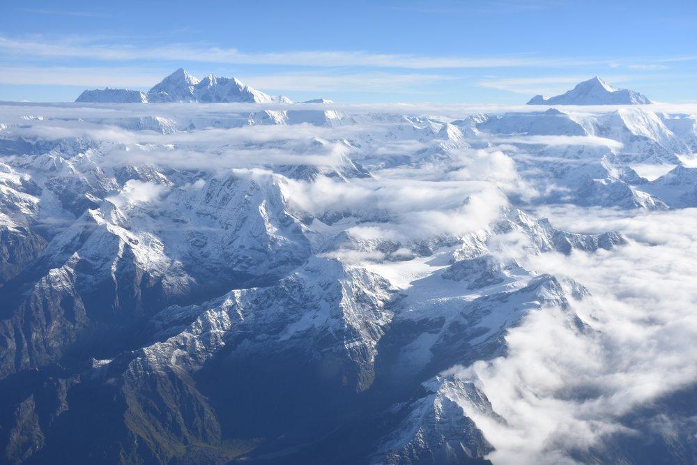 Nepal, vuoret