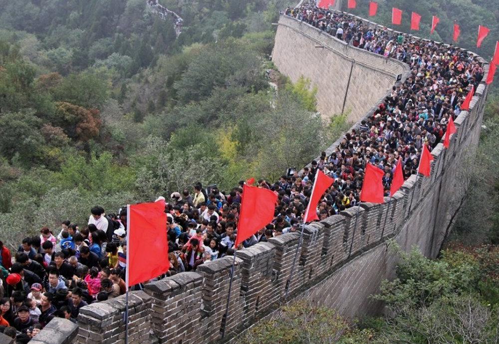 Kiina, Kiinan muuri