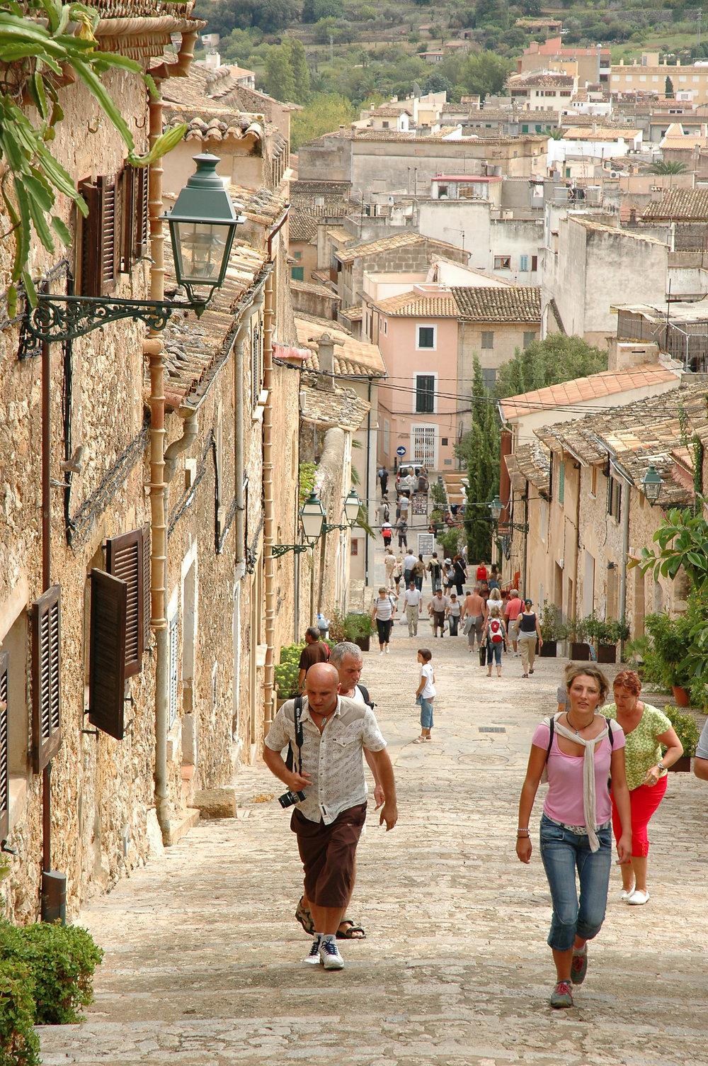 Mallorca, Espanja, Pollenca, Baleaarit