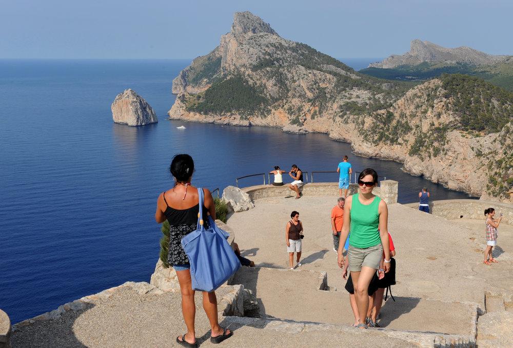 Mallorca, Espanja, Baleaarit, Formentorin nimei, Cap de Formentor, Välimeri