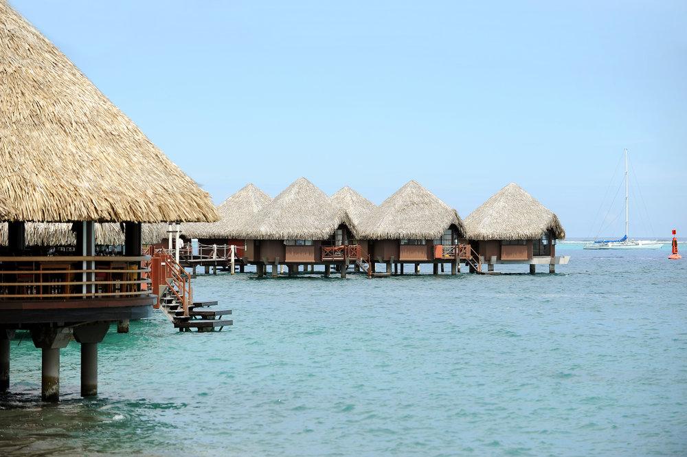 Tahiti, hotelli