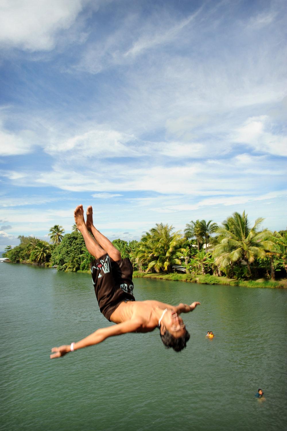 Tahiti, hyppy