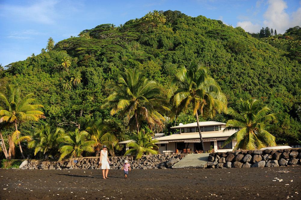 Tahiti, talo