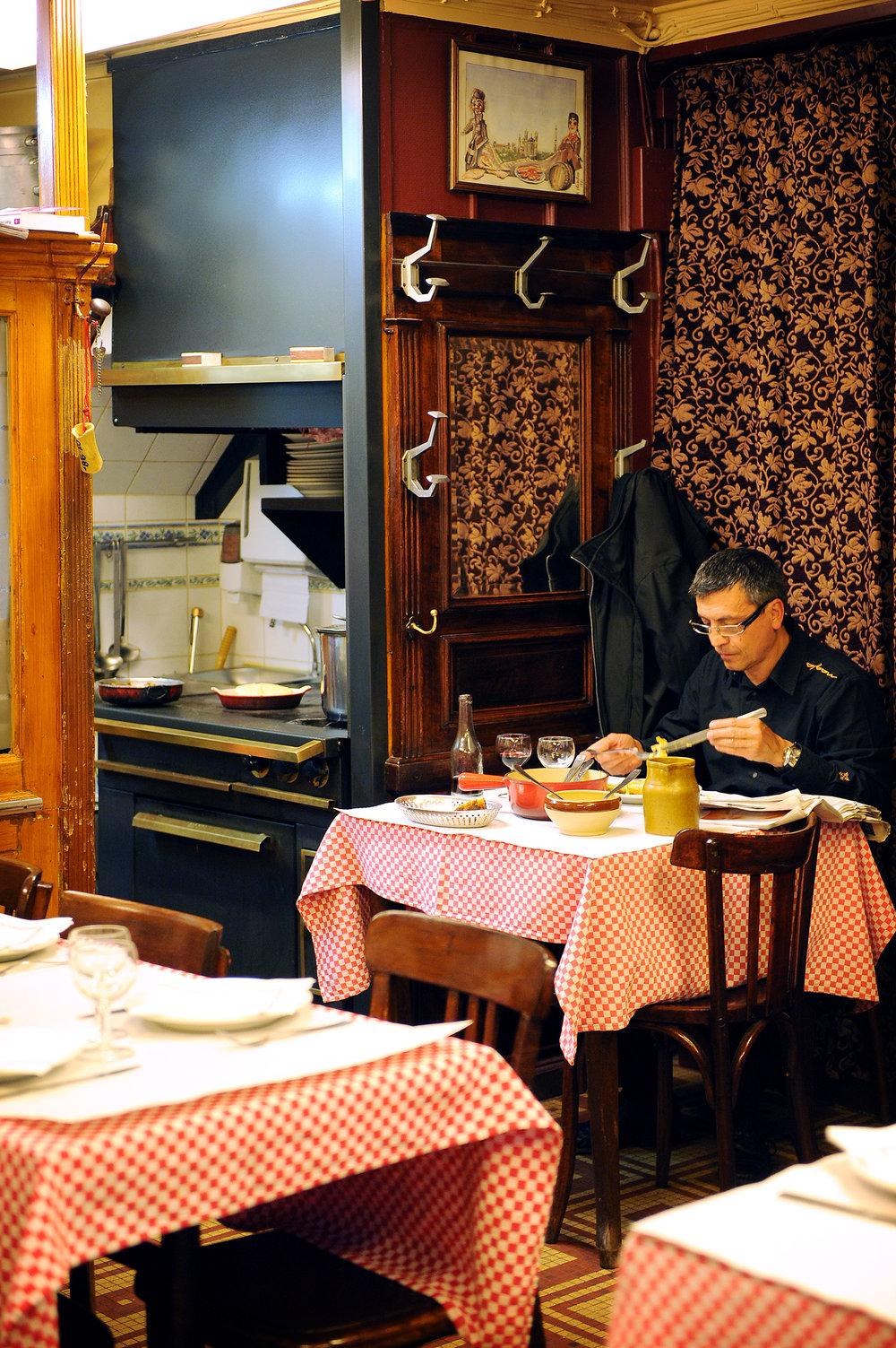 Lyon, Ranska, bouchon, Chez Hugon