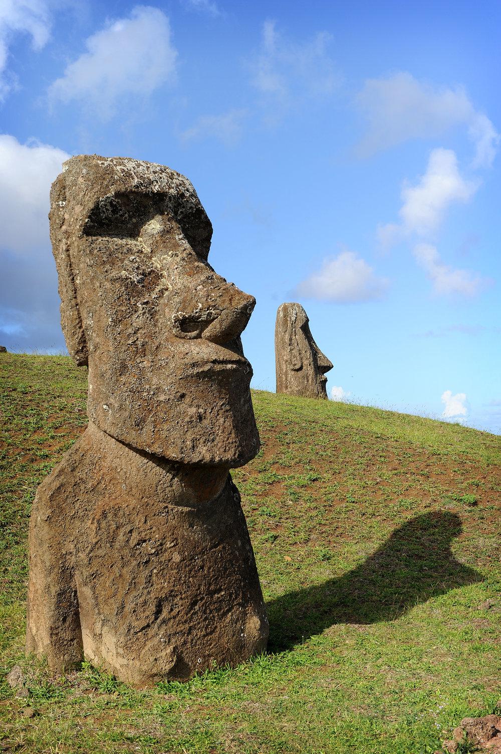Pääsiäissaari, moai, patsas