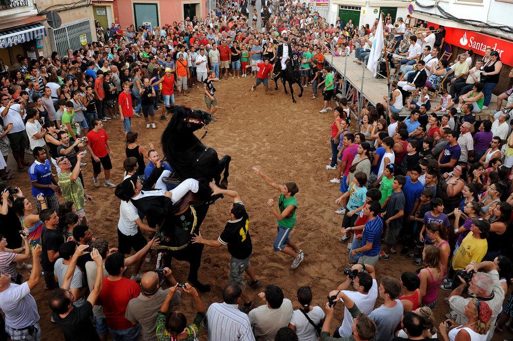 Menorca, Espanja, Baleaarit, fiesta, juhla