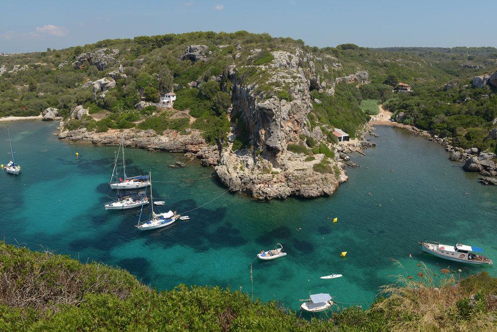 Menorca, Espanja, Baleaarit, Cales Coves
