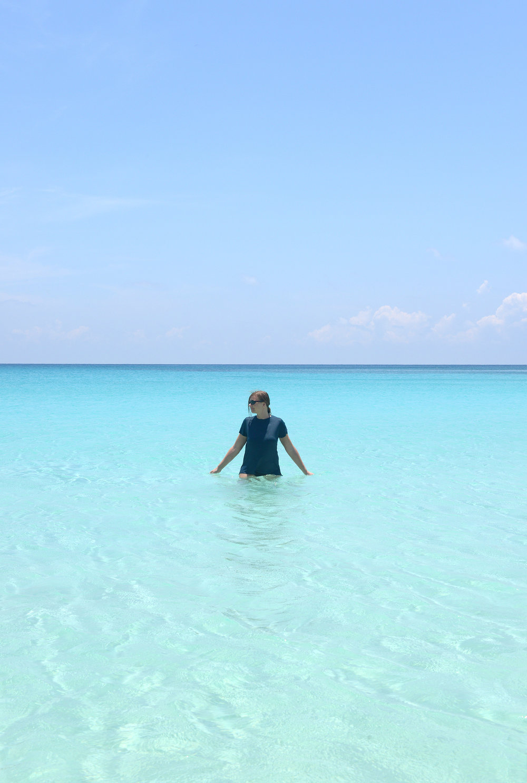 Turkoosi vesi, paratiisiranta, Malesia