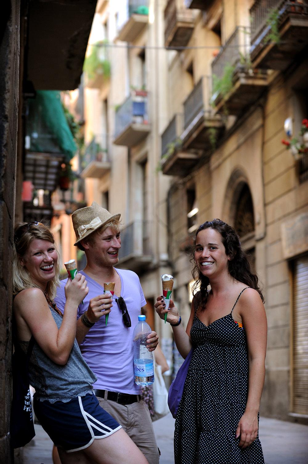 Barcelona, jäätelö, espanja